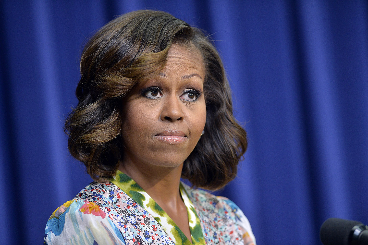Look of the week: First Lady Michelle Obama sports new hairstyle