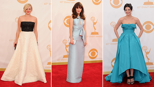 Red Carpet Arrivals at the 2013 Emmy Awards