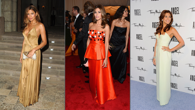 Eva Mendes shares her best and worst red carpet looks
