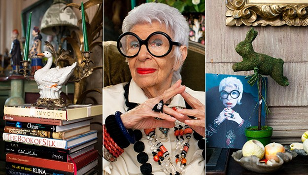 An afternoon with Iris Apfel