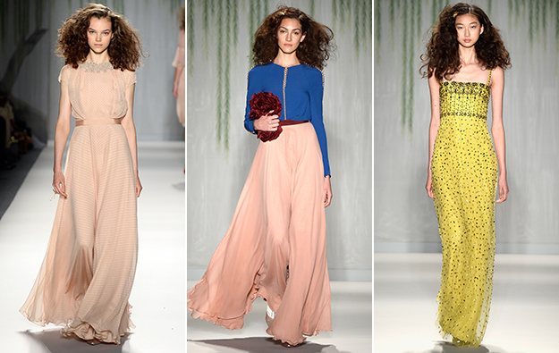 Jenny Packham Spring 2014 collection