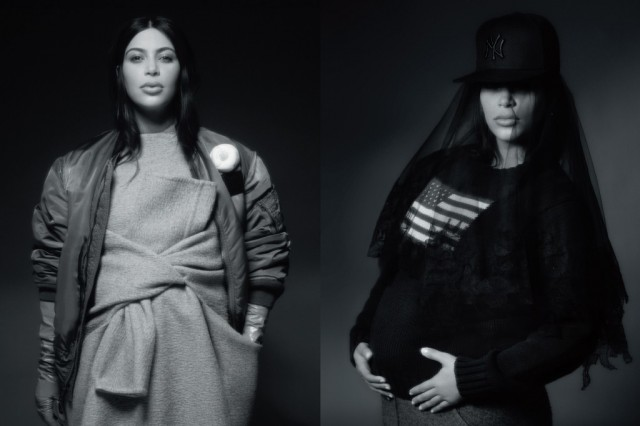 Kim Kardashian's shocking pregnant photo shoot