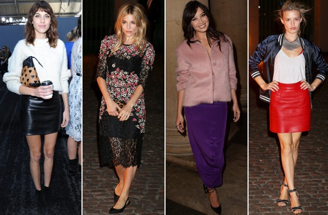 The best celebrity style from London Fashion Week