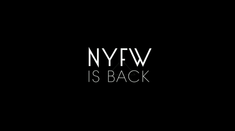 New York Fashion Week is back!