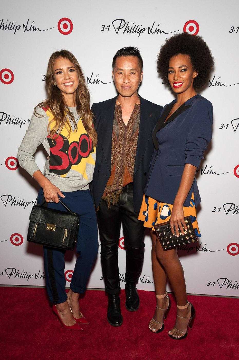Jessica Alba and Solange Knowles celebrate 3.1 Phillip Lim for Target launch