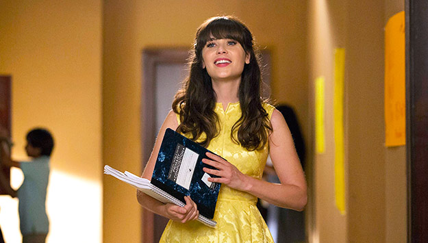 Zooey Deschanel's best nail art moments just in time for the return of New Girl!
