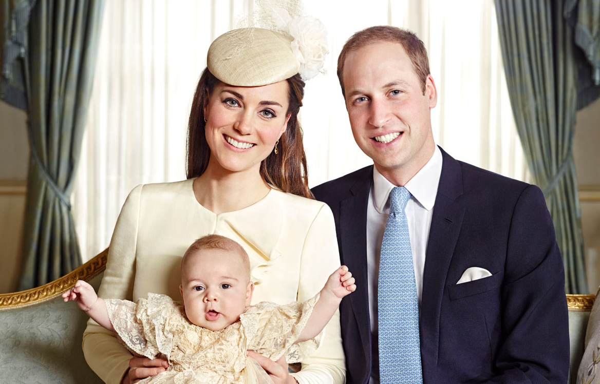 See all of Prince George's official christening portraits
