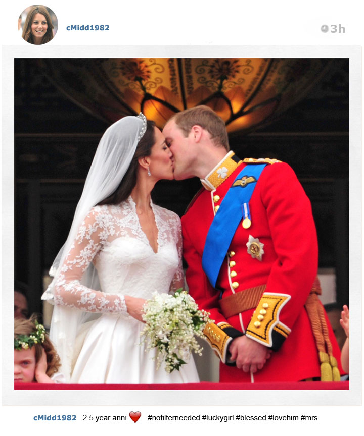 The Instagrams by Kate Middleton that you'll never see