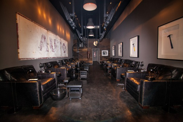 Man Cave Nail Salon : New nail salon for guys offers free beer and a man cave