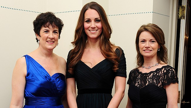 Kate gets all dolled up in Jenny Packham for Gala