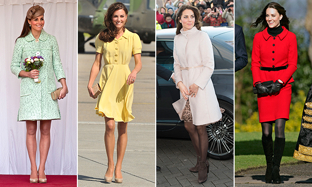 Kate's style through the years