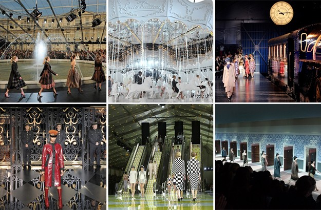 Marc Jacobs' most mind-blowing sets for Louis Vuitton