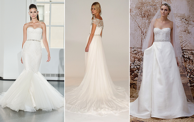 Latest Trends For Wedding Dresses Fall 2014 the fall bridal shows