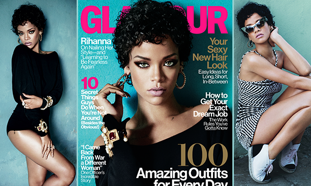 Rihanna sizzles on Glamour November, calls Princess Diana a 'gangsta' when it comes to style