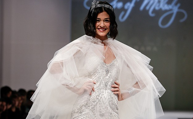 The weirdest trends from the fall 2014 bridal shows