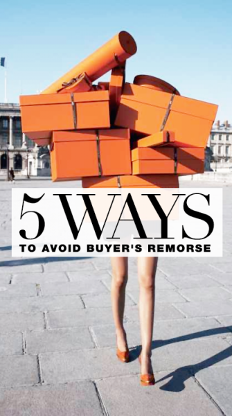 How to avoid buyer's remorse: 5 tips every shopper should know