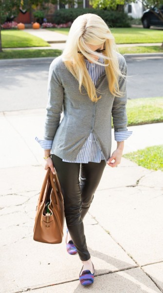 Give your classic cardigan a style refresh