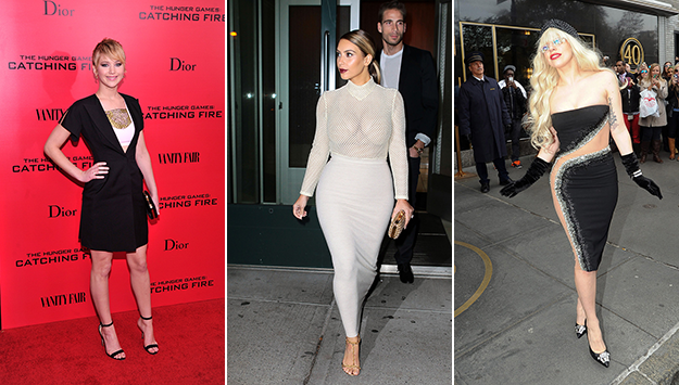 Kim Kardashian, Katy Perry, Lady Gaga & more of this week's best & worst celeb style