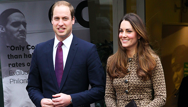 The Duchess of Cambridge shows her thrifty side in recycled Orla Kiely dress