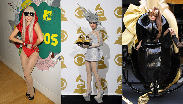 Lady Gaga's shocking style transformation