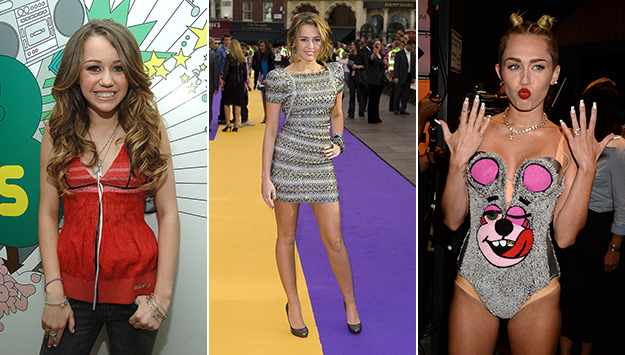 Miley Cyrus's shocking style transformation