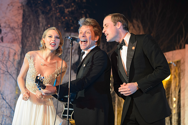 That one time Prince William sang 'Livin' On a Prayer' with Bon Jovi & T-Swift