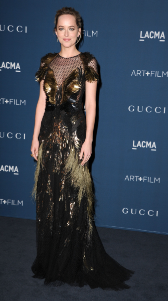 Top 9 at 9: Dakota Johnson wears THAT Gucci dress, a new Topshop collab & more
