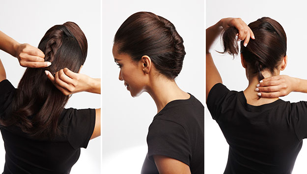 The essential French twist hairdo how-to