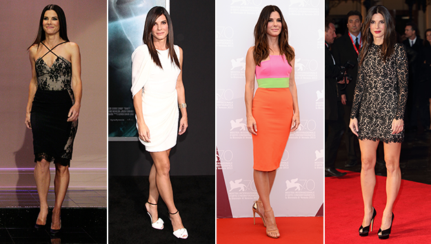 Sandra Bullock's best red carpet moments