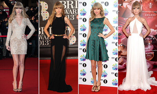 2013 wrap-up: A year of style with Taylor Swift
