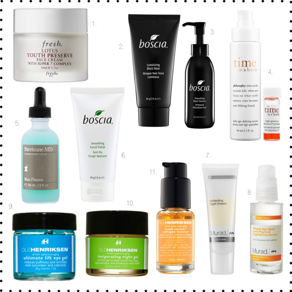 Currently lusting: The best anti-aging skin care