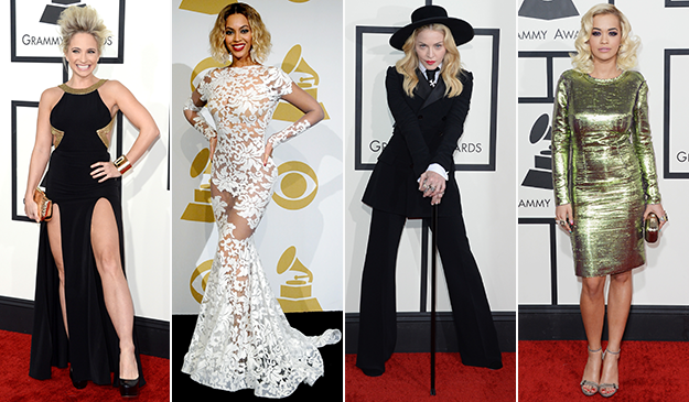 Best and worst dressed at the 2014 Grammy Awards