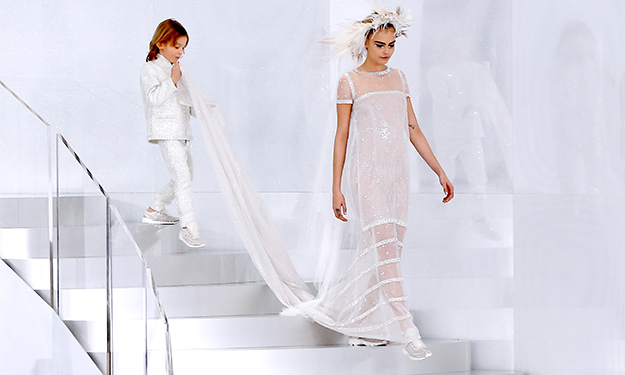 Watch Karl Lagerfeld get 'fired' from Chanel