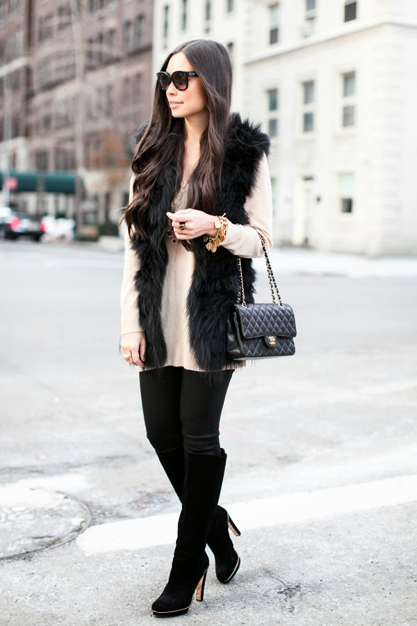 The perfect winter date night outfit