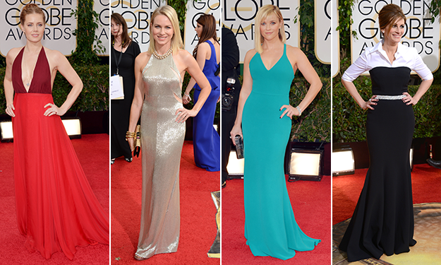 The best and worst dressed stars at the 2014 Golden Globe Awards