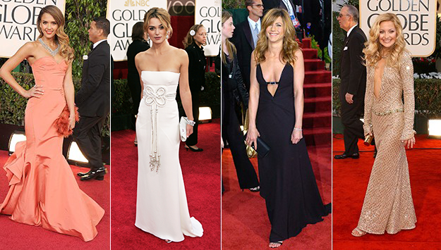 The best Golden Globe Awards red carpet looks of all time