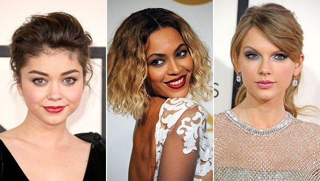 The best beauty looks at the 2014 Grammys