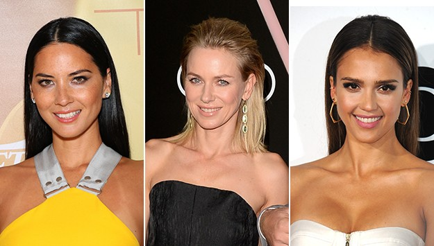 The hairstyle it seemed like every celeb wore this week, from Jessica Alba to Olivia Munn