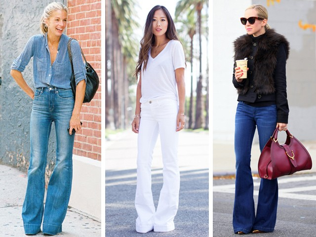 15 Fresh Ways to Wear Flare Jeans