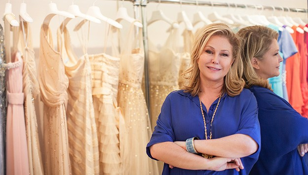 Shop Kathy Hilton's stunning and affordable dress collection