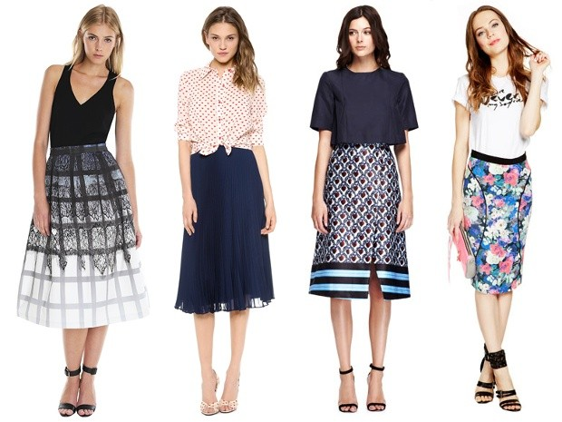 Midi skirts are on the rise: 16 lookers to buy now and wear through spring