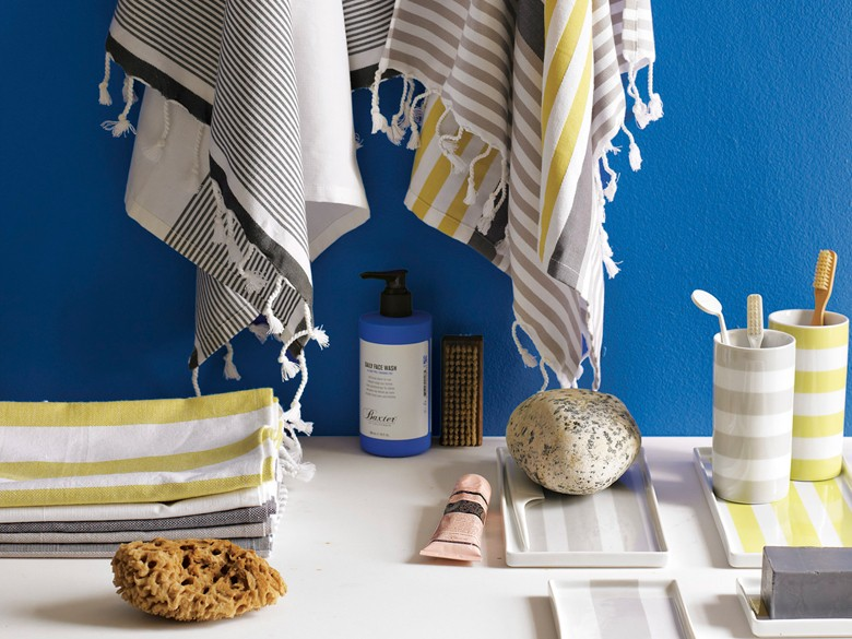 Cute organizers to contain bathroom clutter
