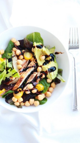 Make this: Chickpea & avocado salad