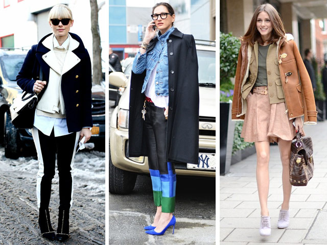 This with that: The chic way to layer coats
