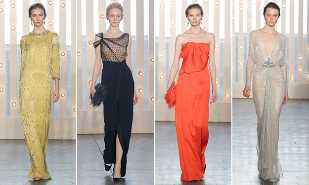 Jenny Packham Fall 2014 dazzled us with gowns fit for a Princess