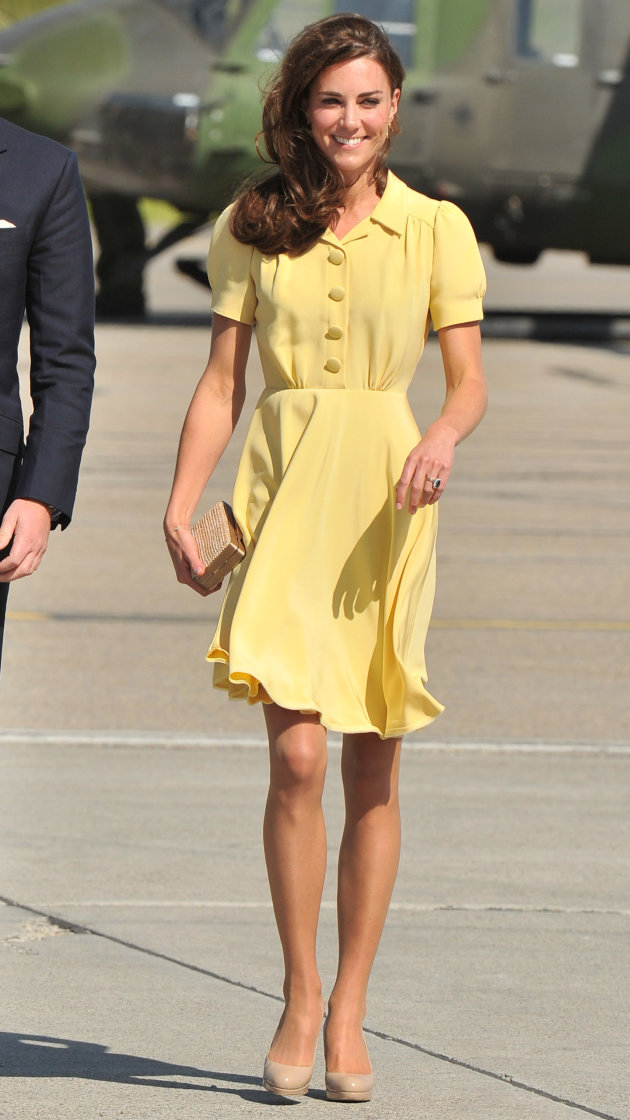 Queen thinks Duchess Kate should wear longer skirts (and more jewels