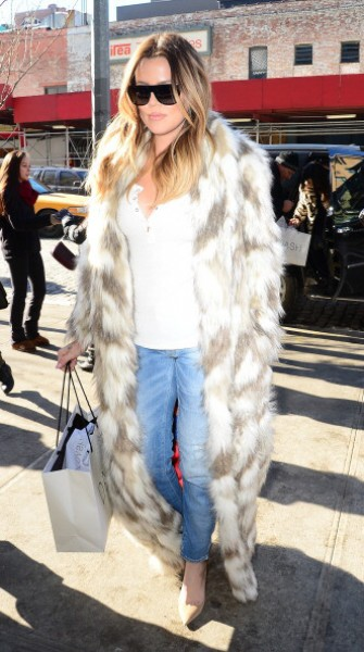 Top 9 at 9: Khloe Kardashian paints a furry statement & more style news