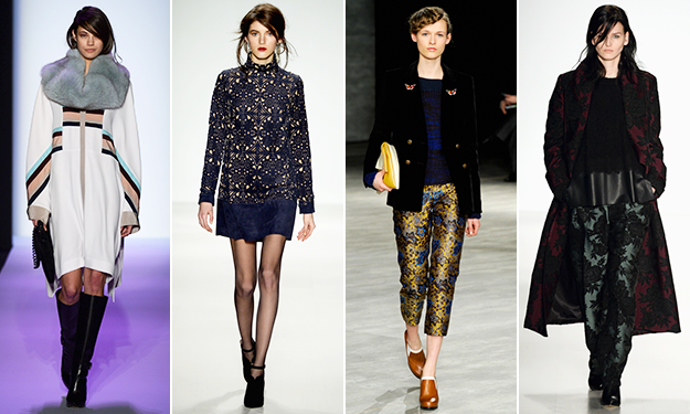 Runway cheat sheet: The best looks from NYFW Day 1