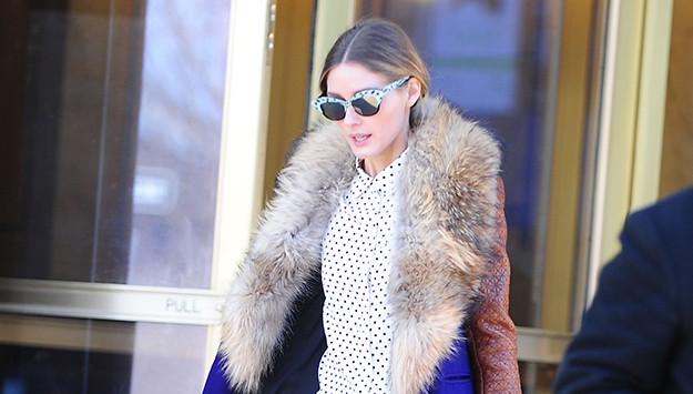 Top 9 at 9: Olivia Palermo wears leopard print Banana Republic pants, and more top style news