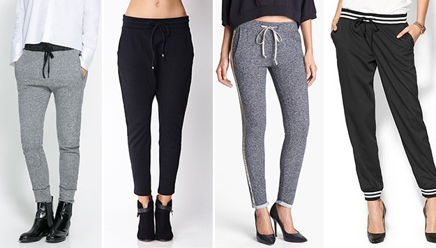 9 chic sweatpants we're coveting right now